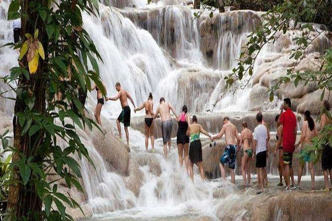 Dunn's River Falls and Blue Hole Combo Tour From Ocho Rios