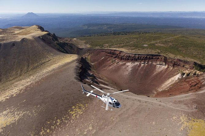 Mount Tarawera Volcanic Adventure by Helicopter