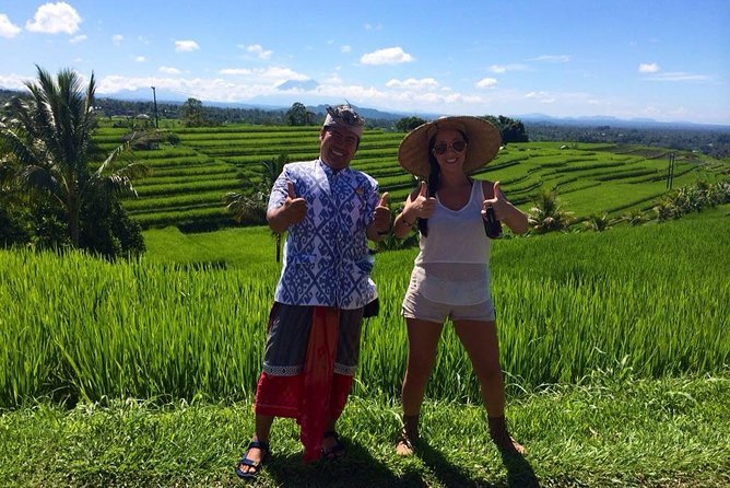 UNESCO Rice Terraces Walk with separate tour guide by Agus Bali Private Tour