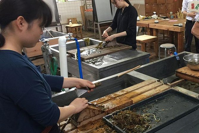 Private Washi Paper Making and Sake Brewery Tour from Tokyo