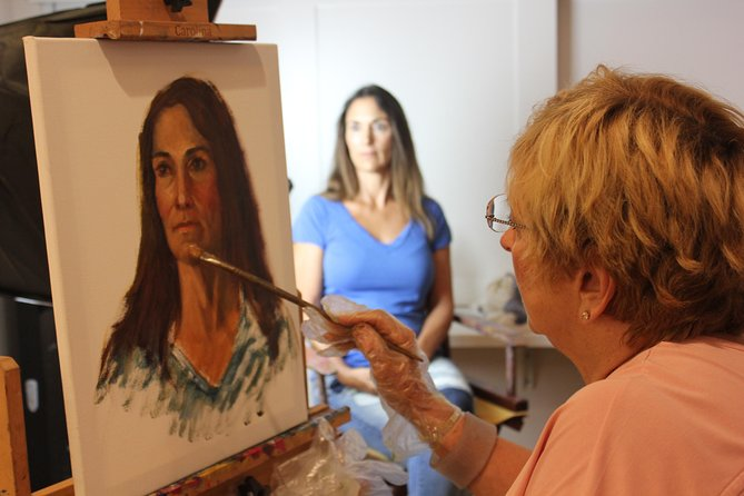 Live Model Painting Workshop