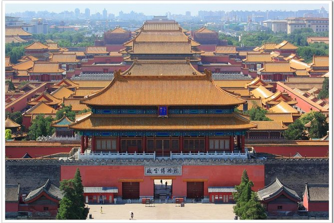 Private Layover tour of Forbidden city and Mutianyu Great wall