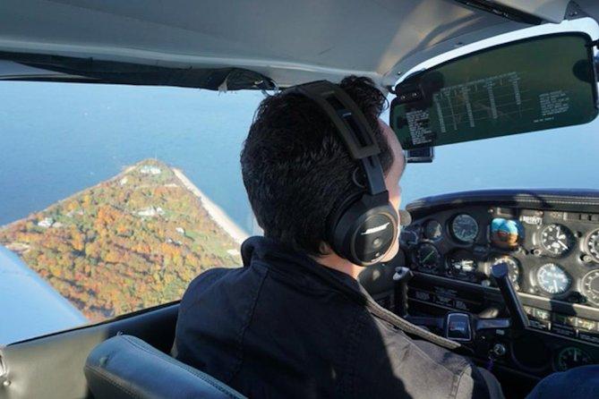 Lección de vuelo de Hudson para hasta 3 personas (Lección de 2 horas)