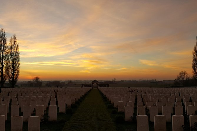 Australian Battlefields Private Tour in Flanders from Bruges