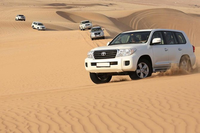 Best Desert Safari Dubai with Buffet Dinner,Sand Boarding & Camel Ride
