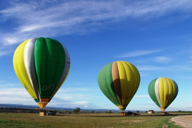Gastronomic VIP hot air balloon flight