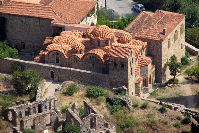 Sparta & Mystras Byzantine fortress Full Day Tour