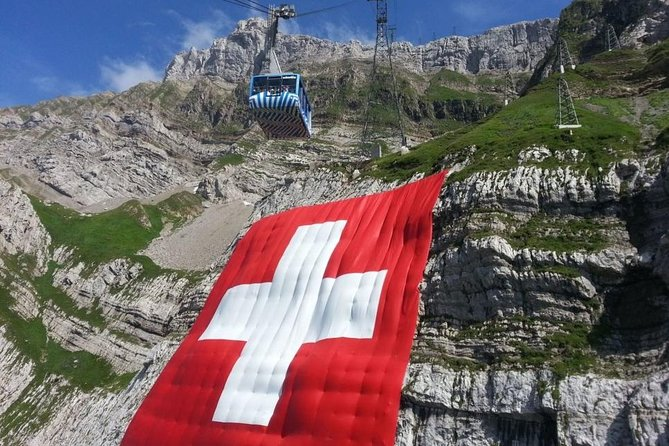 Private Sightseeing Tour Säntis (2502 m) and Appenzell from any Hotel at Lake Constance