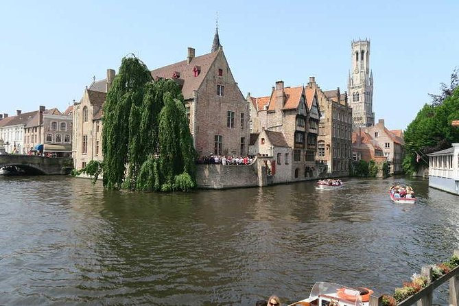 One day in Bruges from Paris with driver and guide