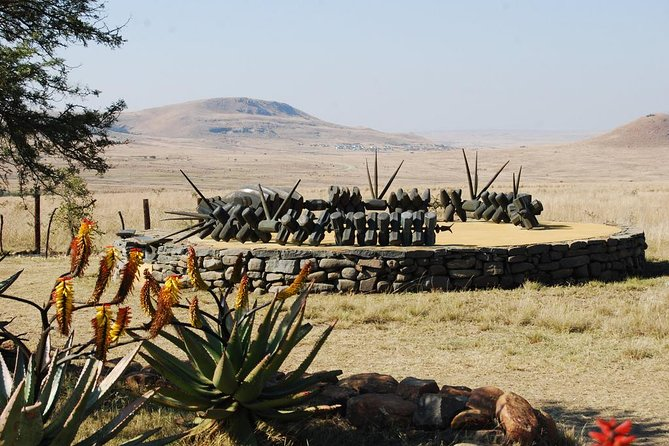 Isandlwana Zulu Warriors memorial site