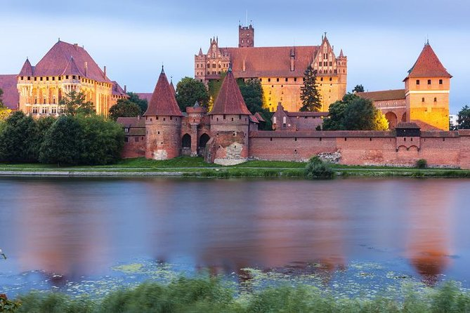 Malbork 13th- century Teutonic Castle Tour from Gdansk, Sopot, Gdynia 2 Way