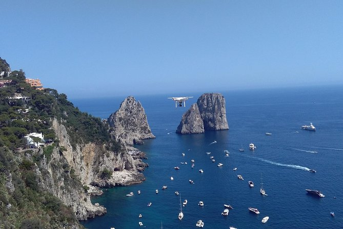 Capri Boat Tour - 6 Hours Stop on the Island & Full Boat Ride around the Island