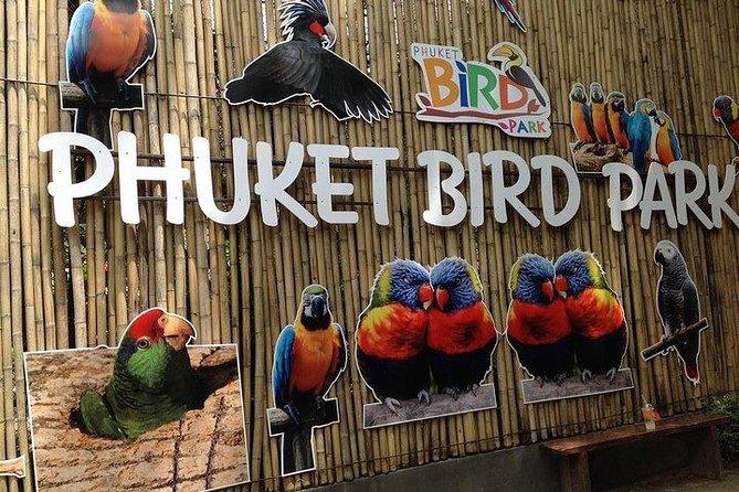 Phuket Bird Park Admission Ticket