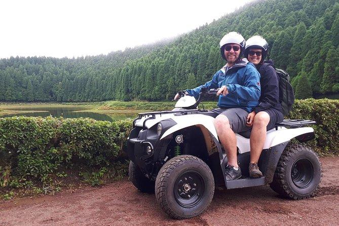 Passeio Moto4 - Montanhas e Vulcões- SETE CIDADES(dia inteiro)