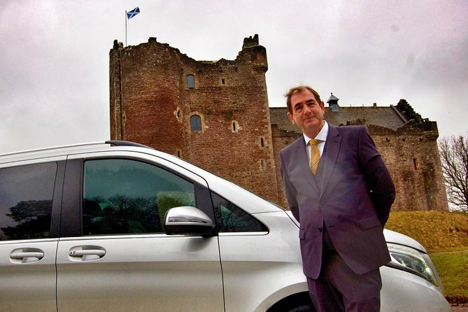 Mary Queen of Scots Luxury Private Tour with Scottish Driver