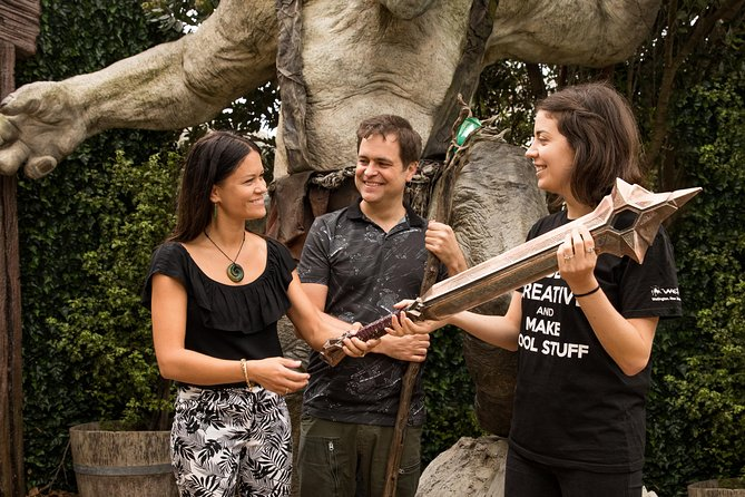 Official Weta Cave Workshop Tour: Private Group Including up to 10 guests