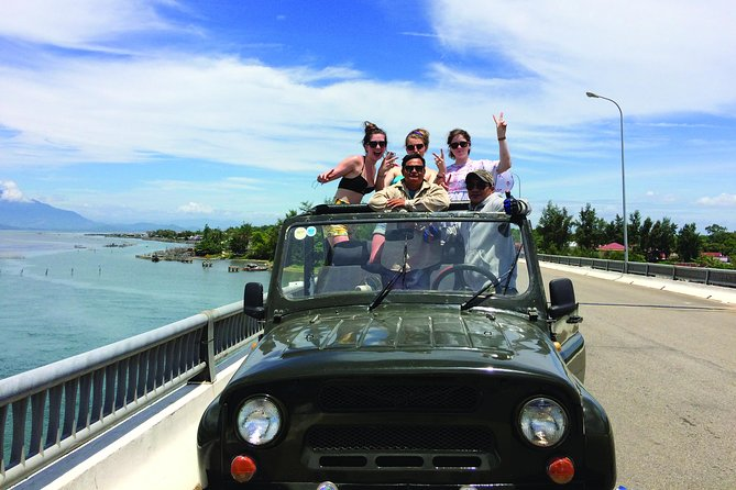 Open tour from Hoi An to Hue by Jeep - unique, fun & save!