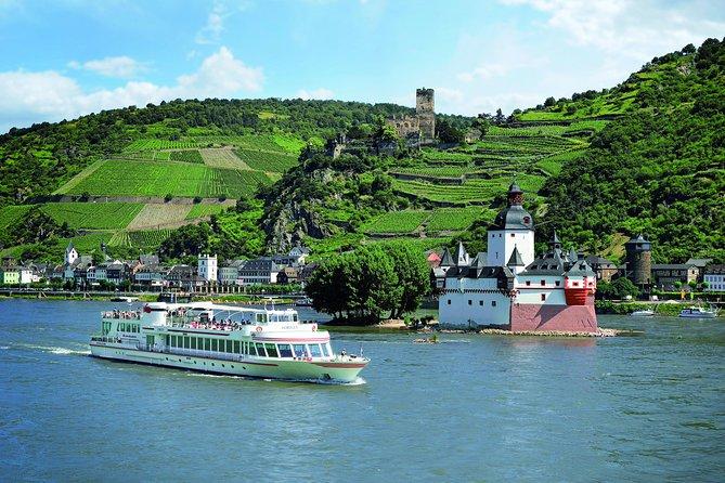 Ingresso para a excursão de barco pelo Rio Reno passando pelos 20 castelos