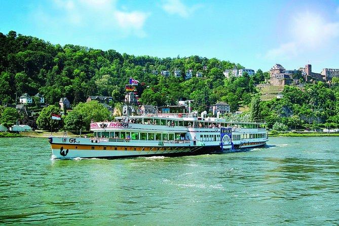 KD Rhine Pass - Nostalgische route - Rijncruise van Koblenz naar Rudesheim