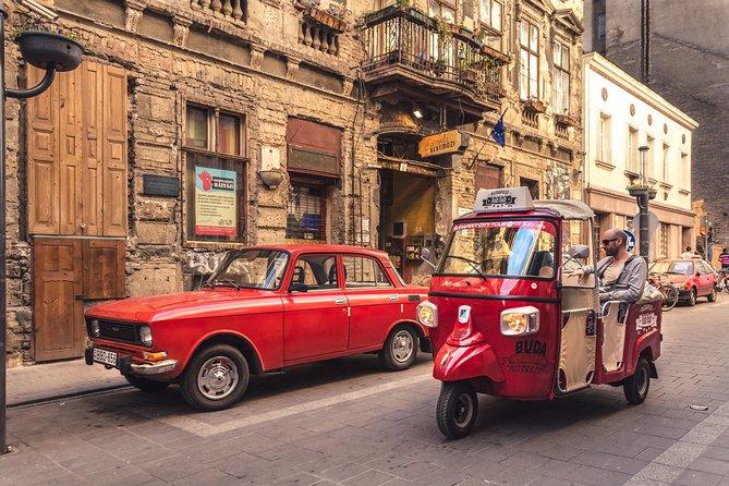 Budapest Tuk Tuk City Tour