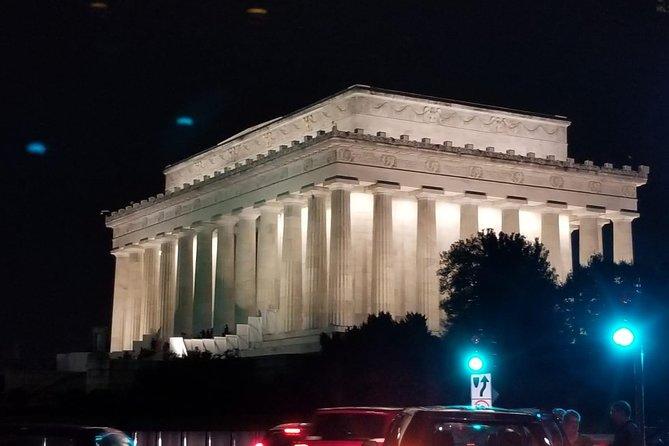 Washington DC Private Night City Tour