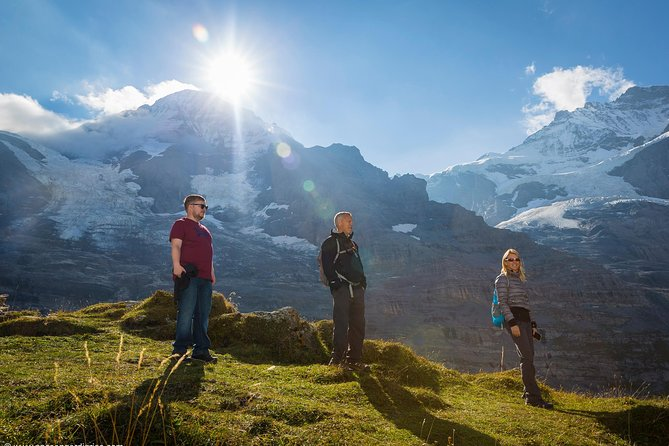 Jungfraujoch Top of Europe with Eiger walking Tour from Grindelwald