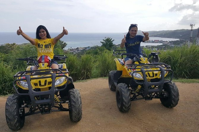 Roatan Excursion: Haft-day ATV Bikes with Private Guide