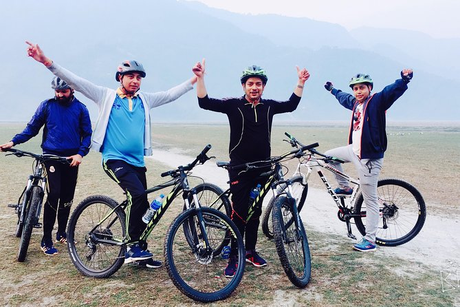 Exclusive Mountain Biking Tour with Sunrise over Mt Annapurna from Pokhara Nepal