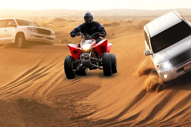 Morning Dune Bashing, Including Camel Riding and Sand Boarding from Dubai