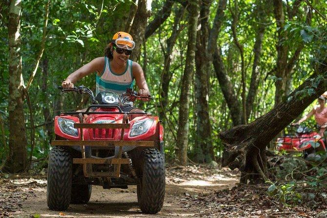 Native's Park ATV Adventure in Playa del Carmen Including Cenote Swim
