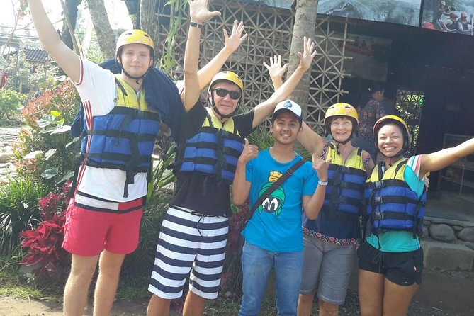 Ayung River Rafting with 2 hours Spa Experience