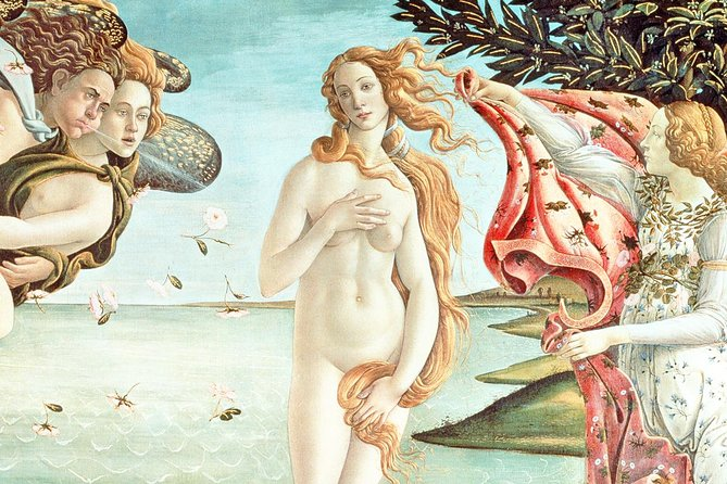 Florence Uffizi Gallery Private Tour with Skip-the-line Tickets & Hotel Pickup
