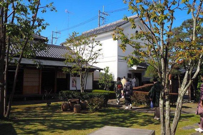 Yuki-Tsumugi Authentic Kimono Craft Town Tour from Tokyo