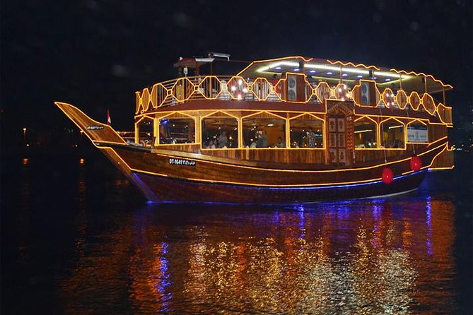 Sightseeing Romantic Dhow Cruise Dinner