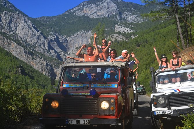 Taurus Mountains Half-Day Jeep Tour from Alanya with Dim Cave