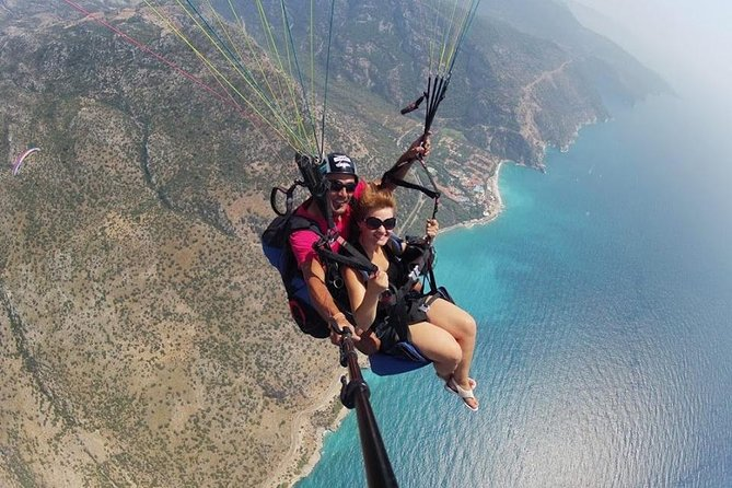 Paragliding experience in Alanya