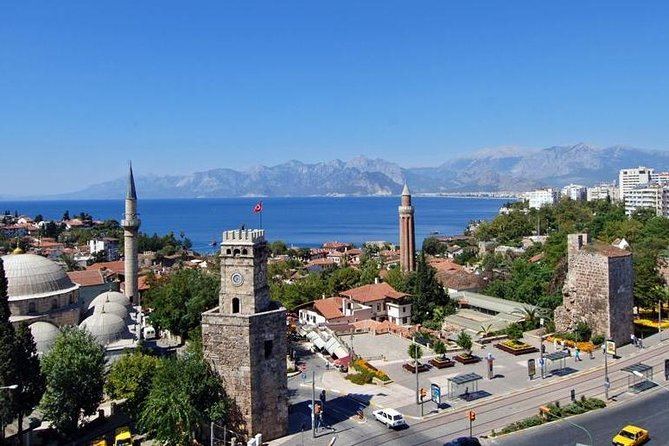 Antalya Aquarium admission with optional City Tour and Duden Waterfall from Side