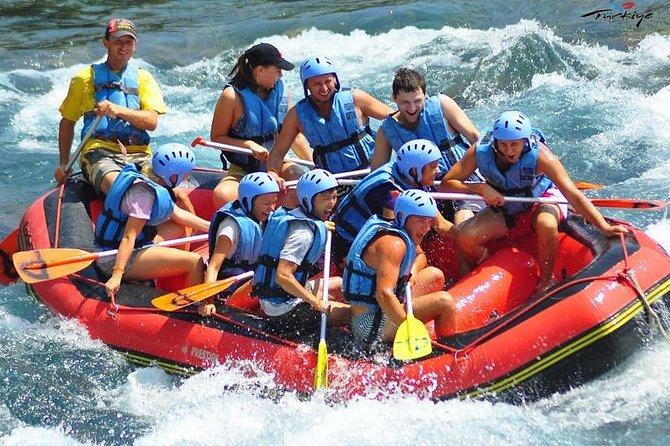 3 in 1 Rafting con Canyoning e Ziplining