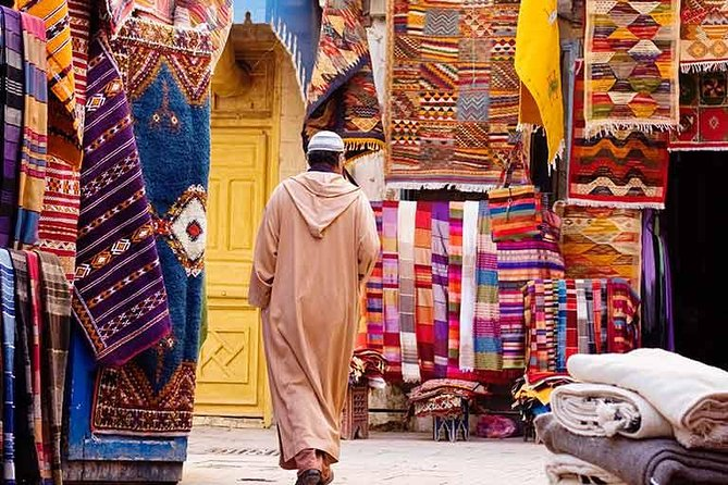 Sightseeing and shopping tour of Marrakech half-day