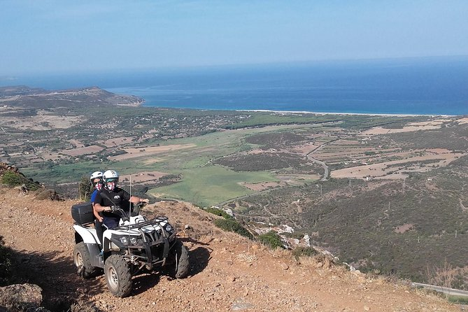 Cagliari: Quad Adventure Full day Tour Experience from Chia photo 1