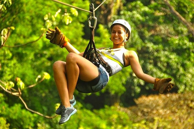 Los Suenos Canopy Adventure from Jaco