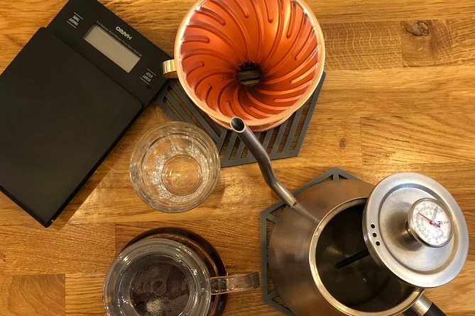 Guided Specialty Coffee brewing session