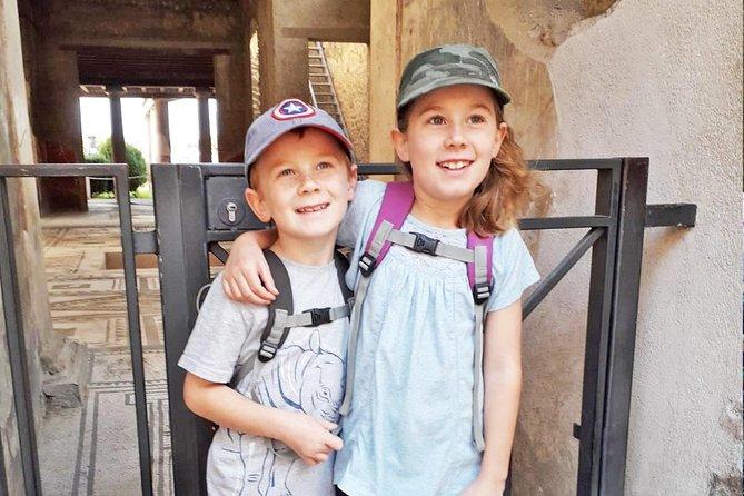 Pompeya Tour para niños con entradas sin colas y guía para niños