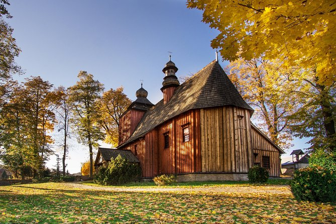 Wooden Architecture Route Around Kraków, private tour