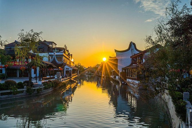Private Fengjing Ancient Town Sunset Tour from Shanghai with Spa Option