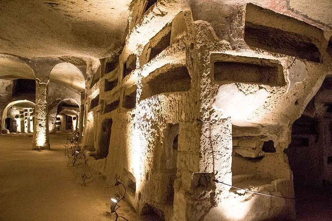 Tour of Naples Fontanelle Cemetery Catacombs & Sanità Quarter with Local Guide
