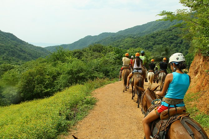 Canopy River Zipline Tour and Mule Ride photo 4