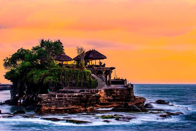 Tanah Lot Sunset and Spa Tour from Bali