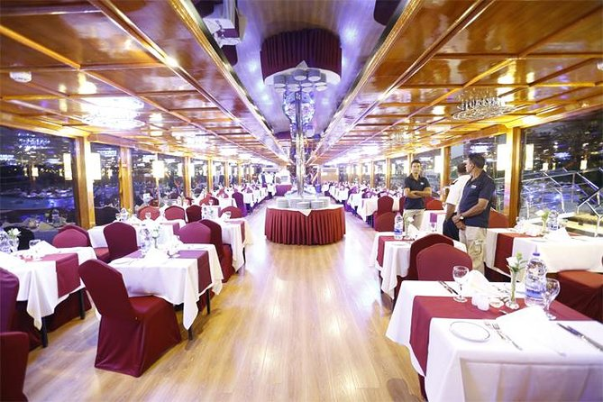 Dubai Marina dhow sightseeing cruise with dinner