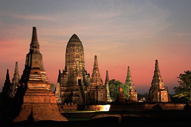 Ancient City & Temples of Ayutthaya ( UNESCO ) by River Cruise with Buffet Lunch